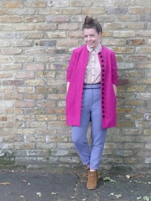 Kelly Love - SongBird Coat, Blossoms of the Cherry Blouse & Whisphering Ghost Trousers
